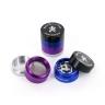 Coloured Metal Grinder (4 parts)