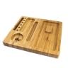 Tavă RQS Din Bambus Cu Bandă Magnetică Pentru Rulat